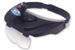 Carson CP-60 MagniVisor Deluxe Lighted LED Visor