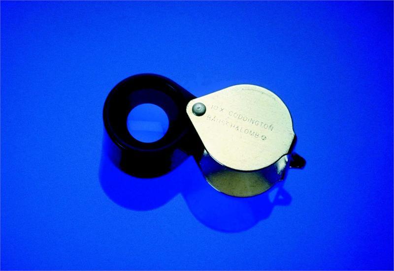 BAUSCH /& LOMB Magnifier,10X,Coddington 81-61-31