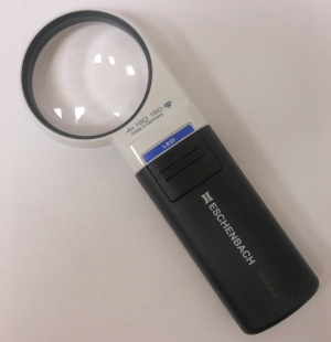 Eschenbach 1511-41 Hand Held Illuminated Magnifier Mobilux LED 4x
