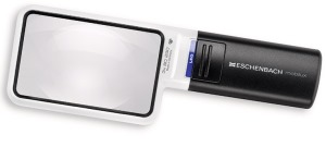 Eschenbach 1512-2 Hand Held Illuminated Magnifier Mobilux LED 3x