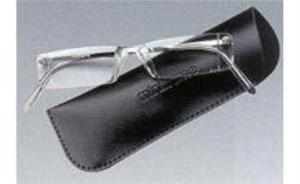 Eschenbach 2910-20 Mini-Frame Reading Glasses With Case 2.0 Diopter
