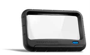 "Is A 2"" x 4"" Magnifier With 2x Power."