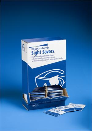 Bausch & Lomb 8574GM Sight Savers Pre-Moistened Lens Cleaning Tissues