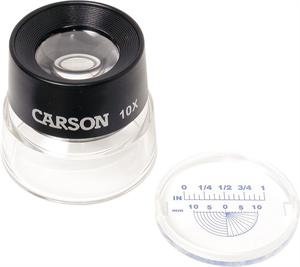 Carson LL-20 LumiLoupe Stand Magnifier 10X