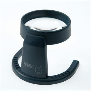 Coil 4206 Fixed Stand Magnifier with Bi-Aspheric 6X Magnification Lens