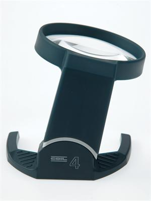 Coil 5214 Tilt Stand Magnifier with Bi-Aspheric 4X Magnification Lens